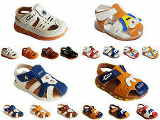 Baby Girls Boys Summer Sandals Flat Light Slip On Pumps Casual Shoes Infant Size