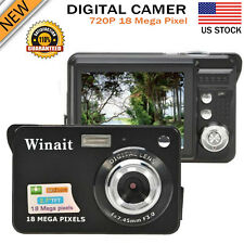 "2.7"" LCD 18MP CMOS HD 720P Digital Camera Video Camcorder DV Recorder US Stock"
