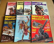"""MULTI-LIST SELECTION OF """"MILITARY MODELLING MAGAZINE""""  VOL 8  FROM YEAR 1978"""