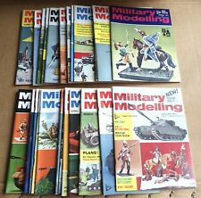 """MULTI-LIST SELECTION OF """"MILITARY MODELLING MAGAZINE""""  VOL 1  FROM YEAR 1971"""
