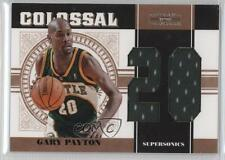 2010 Playoff National Treasures Colossal Materials Jersey Number #10 Gary Payton