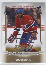 2014-15 Upper Deck MVP #233 PK Subban Montreal Canadiens P.K. Hockey Card