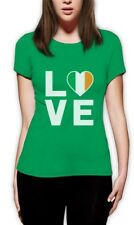 I Love Ireland - Irish Pride Flag of Ireland Gift Idea Women T-Shirt Novelty