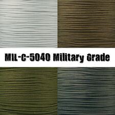 Paracord MIL-C-5040 Certified Type III Mil Spec Parachute Cord Military Grade