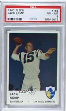 1961 Fleer #155 Jack Kemp PSA 8 San Diego Chargers Football Card