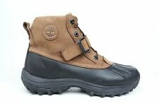 Timberland Classic Canard Brown Black Leather Mens Size Boot Shoes 38593 1702-01