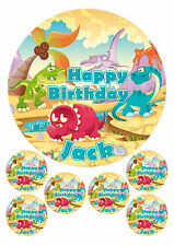 PERSONALISED CHILDRENS DINOSAUR GROUP - 1 x 7.5