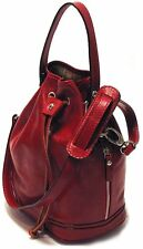 Floto Imports Luggage Ciabatta Satchel Handbag, Italian Calfskin Leather