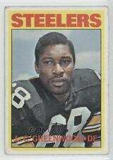 1972 Topps #101 LC Greenwood Pittsburgh Steelers L.C. RC Rookie Football Card