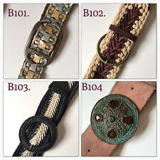 women's belts 4 styles available Leather