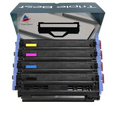 Remanufactured 124A Black Cyan Magenta Yellow Toner Cartridge to Replace HP 124A