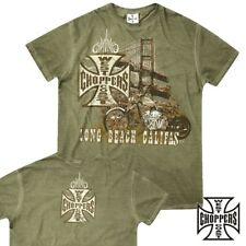 West Coast Choppers T-Shirt Bridge Tee Biker Custom Bike - S M L XL XXL 3XL