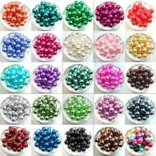 Charm Glass Pearl Spacer Loose Beads Fit Europ Jewelry Making 4/6/8/10mm