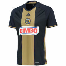 adidas Mens Gents Football Soccer Philadelphia Union Home Shirt Jersey Top 2016