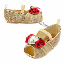 Princess Belle Deluxe COSTUME BABY Dress Up SHOES Beauty & Beast Disney Store