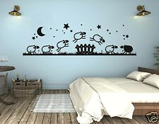 Wall tattoo Kids Room Wall Tattoo Baby Sheep Sheep content young girl pm45