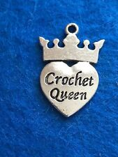 Tibetan Silver CROCHET, KNITTING, BEADING, QUILTING Diva Queen Love, Charms,