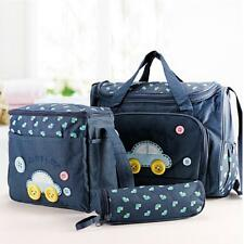 4Pcs/set Waterproof Baby Diaper Nappy Mummy Travel Bag Changing Handbag