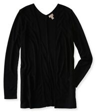 Aeropostale Womens Ribbed Open Front Cardigan Sweater