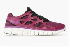 NIKE FREE RUN 2 PURPLE/PINK WOMENS GIRLS TRAINERS SIZE 5 38.5 RUNNING SHOES GYM
