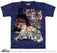 BIG CAT COLLAGE CHILD T-SHIRT THE MOUNTAIN