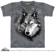 WOLF PORTRAIT CHILD T-SHIRT THE MOUNTAIN