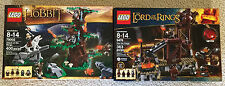 Lego Lord Of The Rings Orc Forge 9476 and 79002 Attack of the Wargs Retired Sets