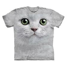 """CAT """"GREEN EYES FACE"""" CHILD T-SHIRT THE MOUNTAIN"""