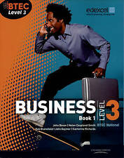 BTEC Level 3 National Business Student Book 1: Book 1 by Catherine Richards,...