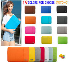 """10.1""""-15.6"""" Laptop Ultrabook Soft Sleeve Case Bag For MacBook Acer HP Dell Sony"""