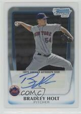2011 Bowman Chrome Prospects Autograph #BCP174 Brad Holt Baseball Card