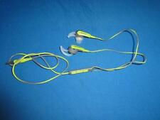 Green Bose SIE2i Sports In-Ear Headphones for Apple iOS - USED with WEAR - Read
