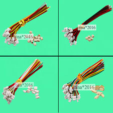 Mini Micro SH 1.0 2Pin 3P 4P 5p 6Pin JST Connector with Wires Cable 10 Sets