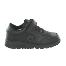 Ez1o Boys Lightweight Trainer Style School Shoes With Subtle Football On Side