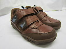SALE Startrite 'Free Kick' Boys Brown Leather Shoes F & G Width Fitting