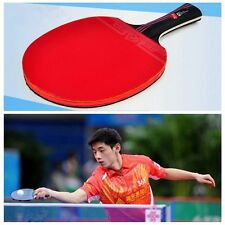 1 PC  Training Ping Pong Paddle With Bag Carbon Fiber Table Tennis Racket Bat