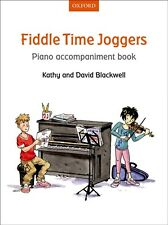 Fiddle Time Piano Accompaniments. Joggers, Runners & Sprinters Available