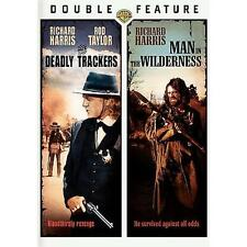 Man In The Wilderness /The Deadly Trackers  - Richard Harris (DVD, 2008) Color