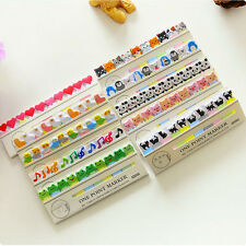 Paper Bookmark Kid Stationery Office Supply Cat Penguins Animals Sticky Memo Pad