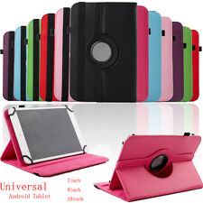 "Universal Leather Flip Case Cover For 7/8/10"" Android Tablet"