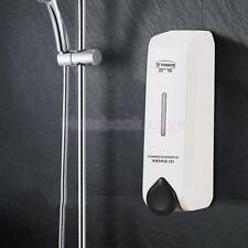350ml Wall Mounted Soap Shampoo Shower Hand Lotion Holder Pump Action Dispenser