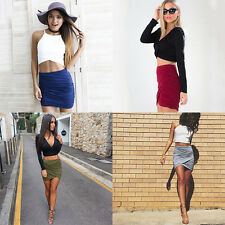 Hot Sexy Women's Wrinkle Slim Bundle Nightclub Skirt Charming Pack Hip Skirt