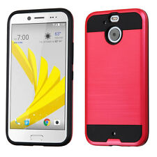 For HTC Bolt HTC10 EVO Case, Brushed Hybrid Cover [Stylus+Screen Protector]