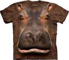 HIPPO HEAD ADULT T-SHIRT THE MOUNTAIN