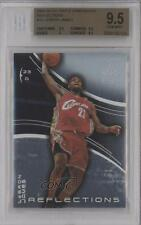 2003-04 Upper Deck Triple Dimensions Reflections #10 Lebron James BGS 9.5 Card