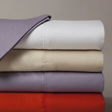"Luxurious 650TC 100% Egyptian Cotton Soft 4PC Sheet Set Solid 26"" Deep Pocket"