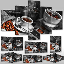 Canvas picture Canvas Art print Mural for the kitchen Aroma Coffee Coffee beans