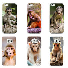 Little Monkey 3D Print Phone Case Cover for Samsung S6 iPhone 6 6S 7 Plus Witty