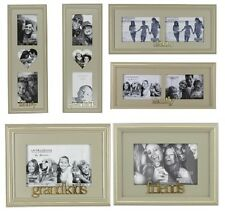 "Juliana Wooden Photo Frame 6"" x 4"" Family Sisters Grandkids & Friends"
