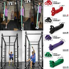 Heavy Duty Resistance Strech Band Loop Power Gym Fitness Exercise Yoga Workout A